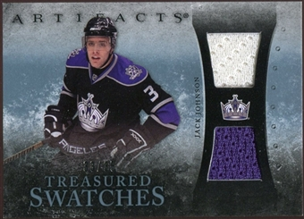 2010/11 Upper Deck Artifacts Treasured Swatches Blue #TSJJ Jack Johnson 33/35