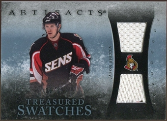 2010/11 Upper Deck Artifacts Treasured Swatches Blue #TSJS Jason Spezza 6/35