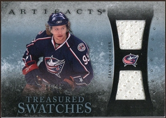 2010/11 Upper Deck Artifacts Treasured Swatches Blue #TSJV Jakub Voracek 1/35