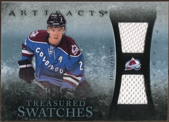 2010/11 Upper Deck Artifacts Treasured Swatches Blue #TSPS Paul Stastny 18/35
