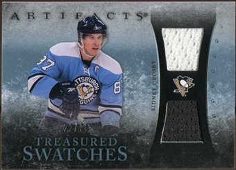 2010/11 Upper Deck Artifacts Treasured Swatches Blue #TSSC Sidney Crosby 22/35