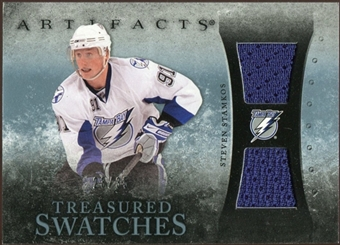 2010/11 Upper Deck Artifacts Treasured Swatches Blue #TSSS Steven Stamkos /35