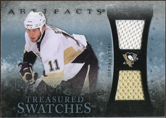 2010/11 Upper Deck Artifacts Treasured Swatches Blue #TSST Jordan Staal /35