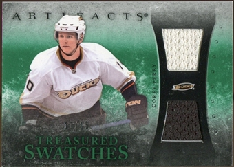2010/11 Upper Deck Artifacts Treasured Swatches Emerald #TSCP Corey Perry 11/15