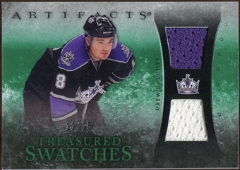 2010/11 Upper Deck Artifacts Treasured Swatches Emerald #TSDD Drew Doughty 11/15