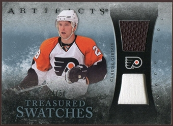 2010/11 Upper Deck Artifacts Treasured Swatches Jersey Patch Blue #TSCG Claude Giroux 24/50