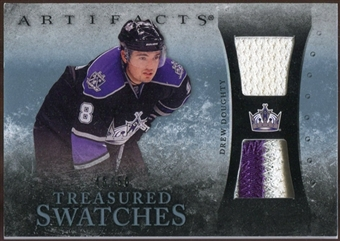 2010/11 Upper Deck Artifacts Treasured Swatches Jersey Patch Blue #TSDD Drew Doughty /50