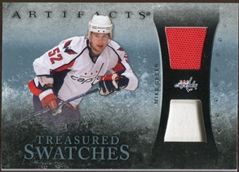 2010/11 Upper Deck Artifacts Treasured Swatches Jersey Patch Blue #TSMG Mike Green 50/50