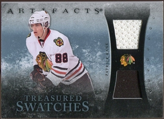 2010/11 Upper Deck Artifacts Treasured Swatches Jersey Patch Blue #TSPK Patrick Kane /50
