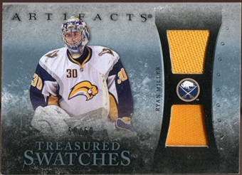 2010/11 Upper Deck Artifacts Treasured Swatches Jersey Patch Blue #TSRM Ryan Miller 50/50