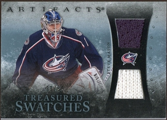 2010/11 Upper Deck Artifacts Treasured Swatches Jersey Patch Blue #TSSM Steve Mason /50