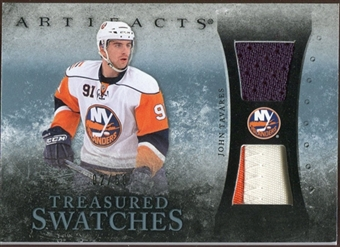 2010/11 Upper Deck Artifacts Treasured Swatches Jersey Patch Blue #TSTA John Tavares /50