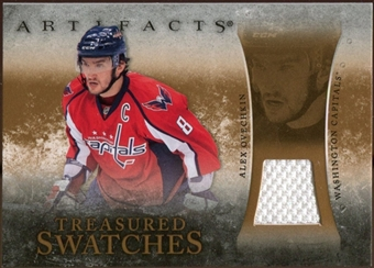 2010/11 Upper Deck Artifacts Treasured Swatches Retail #TSRAO Alexander Ovechkin
