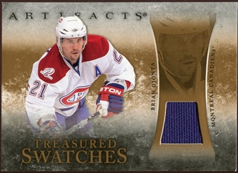 2010/11 Upper Deck Artifacts Treasured Swatches Retail #TSRBG Brian Gionta