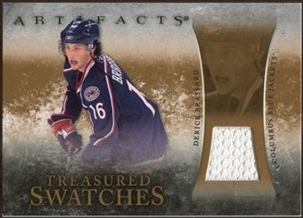 2010/11 Upper Deck Artifacts Treasured Swatches Retail #TSRDB Derick Brassard