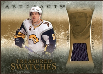 2010/11 Upper Deck Artifacts Treasured Swatches Retail #TSRDR Derek Roy