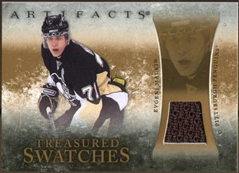 2010/11 Upper Deck Artifacts Treasured Swatches Retail #TSREM Evgeni Malkin