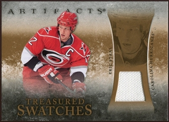 2010/11 Upper Deck Artifacts Treasured Swatches Retail #TSRES Eric Staal