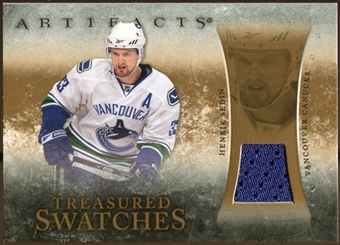 2010/11 Upper Deck Artifacts Treasured Swatches Retail #TSRHS Henrik Sedin