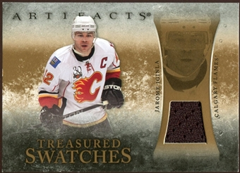 2010/11 Upper Deck Artifacts Treasured Swatches Retail #TSRJI Jarome Iginla