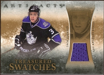 2010/11 Upper Deck Artifacts Treasured Swatches Retail #TSRJJ Jack Johnson