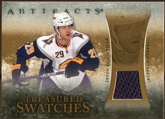 2010/11 Upper Deck Artifacts Treasured Swatches Retail #TSRJP Jason Pominville