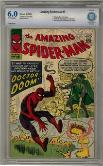 Amazing Spider-Man #5 CBCS 6.0 (OW-W) *16-16D96B1-009*