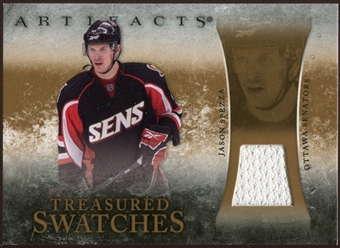 2010/11 Upper Deck Artifacts Treasured Swatches Retail #TSRJS Jason Spezza
