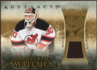 2010/11 Upper Deck Artifacts Treasured Swatches Retail #TSRMB Martin Brodeur