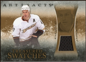 2010/11 Upper Deck Artifacts Treasured Swatches Retail #TSRRG Ryan Getzlaf