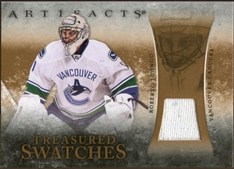 2010/11 Upper Deck Artifacts Treasured Swatches Retail #TSRRL Roberto Luongo
