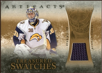 2010/11 Upper Deck Artifacts Treasured Swatches Retail #TSRRM Ryan Miller