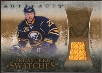 2010/11 Upper Deck Artifacts Treasured Swatches Retail #TSRTV Thomas Vanek