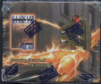 Marvel Premium QFX Quesada Retail Box (1997 Skybox)