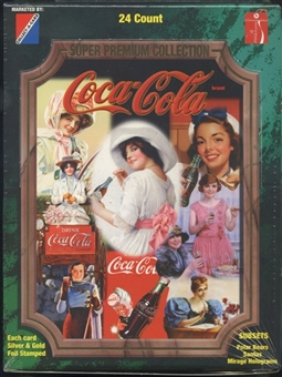 Coca-Cola Super Premium Collection Hobby Box (1995 Collect A Card)