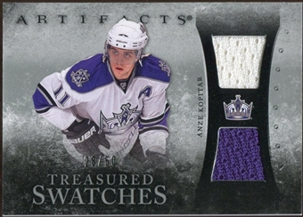 2010/11 Upper Deck Artifacts Treasured Swatches Silver #TSAK Anze Kopitar /50