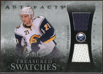 2010/11 Upper Deck Artifacts Treasured Swatches Silver #TSDS Drew Stafford 41/50