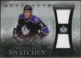 2010/11 Upper Deck Artifacts Treasured Swatches Silver #TSJJ Jack Johnson 32/50