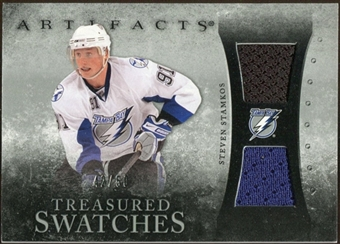 2010/11 Upper Deck Artifacts Treasured Swatches Silver #TSSS Steven Stamkos /50