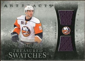 2010/11 Upper Deck Artifacts Treasured Swatches Silver #TSTA John Tavares /50