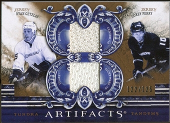 2010/11 Upper Deck Artifacts Tundra Tandems Bronze #TT2ANA Ryan Getzlaf/Corey Perry 122/125
