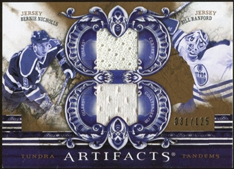 2010/11 Upper Deck Artifacts Tundra Tandems Bronze #TT2EDM Bill Ranford/Bernie Nicholls /125