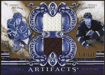2010/11 Upper Deck Artifacts Tundra Tandems Bronze #TT2CANES Tuomo Ruutu/Eric Staal 78/125