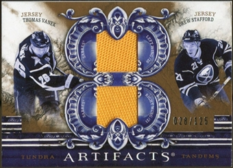 2010/11 Upper Deck Artifacts Tundra Tandems Bronze #TT2BUFF Drew Stafford/Thomas Vanek /125