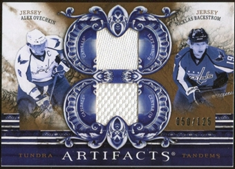 2010/11 Upper Deck Artifacts Tundra Tandems Bronze #TT2CAPS Nicklas Backstrom/Alex Ovechkin 50/125