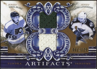 2010/11 Upper Deck Artifacts Tundra Tandems Bronze #TT2DRUM Daniel Briere/Guillaume Latendresse 61/125