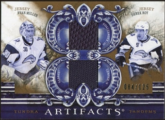 2010/11 Upper Deck Artifacts Tundra Tandems Bronze #TT2RMDR Ryan Miller/Derek Roy 84/125