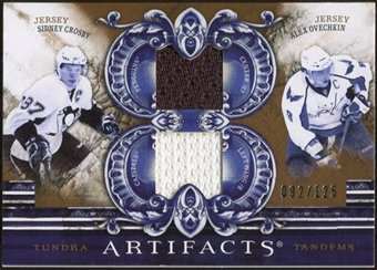 2010/11 Upper Deck Artifacts Tundra Tandems Bronze #TT2SCAO Sidney Crosby/Alex Ovechkin /125