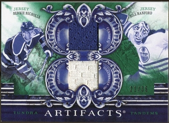 2010/11 Upper Deck Artifacts Tundra Tandems Emerald #TT2EDM Bill Ranford/Bernie Nicholls 21/35