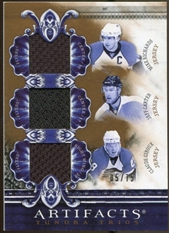 2010/11 Upper Deck Artifacts Tundra Trios Bronze #TT3FLYS Mike Richards/Jeff Carter/Claude Giroux 5/75
